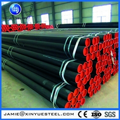 a53 erw black carbon steel pipe