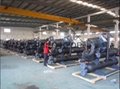 Water cooled double screw chiller