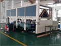 Air cooled double screw chiller