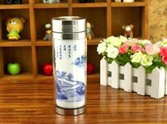 elegant warm mug with ce