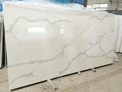 nv903 calacatta artificial quartz stone