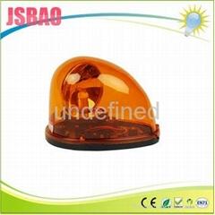 LTD-1201 12v 蝸牛式黃色燈泡旋轉吸頂車載警示燈