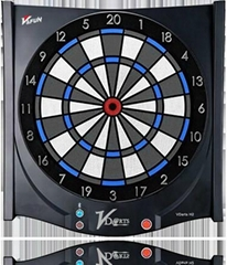 Global online dart board with online function