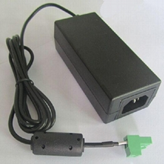 AC/DC switching power supply 24V 3A adapter with C14