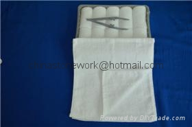 Scent Cleaning white hot cold airline towels 1