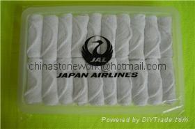 Japan Airlines  towel 1