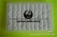 Japan Airlines  towel