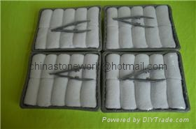 High Quality Disposable Cotton wipes airline hot towels 1