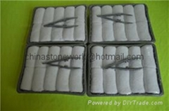 High Quality Disposable Cotton wipes airline hot towels