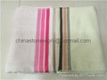 100% cotton terry towel hotel bath towels 50*100CM  1