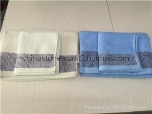 hotel towel set cotton face towel bath towel 1