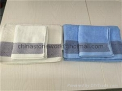 hotel towel set cotton face towel bath towel