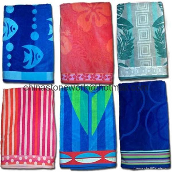 Printed Beach Towel 1