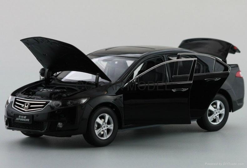 Diecast Model Car For 118 Honda Spirior Euro Accord 2009 Black Wholesaling