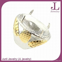 Stainless Steel Jewelry Indonesia Ring