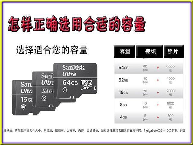 内存卡SD手机储存卡 4