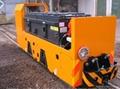 8 ton battery-powered mining locomotive