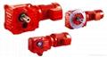 K series helical bevel gearmotor