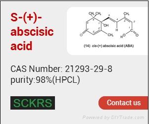abscisic acid (purity:98%, CAS No.21293-29-8) 2