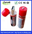 Rechargeable batteries USB port charger battery 1.2v 1450mah 4