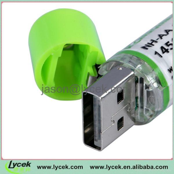1.2V Mini USB rechargeable battery 3