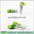 AA 1.2v Continuance Usb Rechargeable Battery 3