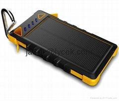 Quality Solar Charger 8000mah Universal Portable External Power Bank