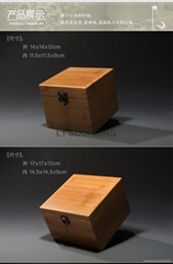 Eco-Friendly bamboo jewelry box(hot selling)