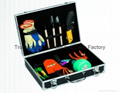 Garden Tool Set Storage Easy with Dust Proof Tool Case