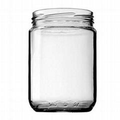 500ml food glass jar pic