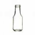 300ml beverage flint glass bottle juice
