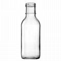 350ml ring neck glass bottle flint