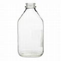 1/2 gallon 64oz clear reusable milk