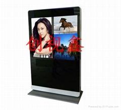 廠家直銷7到108寸液晶廣告機拼接屏