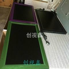 创视鑫22寸直角款苹果款液晶广告机现货供应