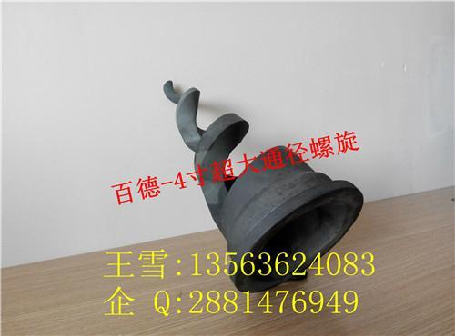 碳化硅螺旋型實心錐噴嘴超大通徑 3