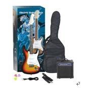 Electric Guitar Pack Eg-A38 Electric Guitar Egm-10 10watt Amplifier