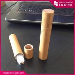 SRS BAMBOO PP material roller ball bottle for eye cream