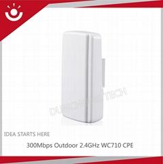 2.4GHz WC710 Outdoor Wireless Access Point CPE Bridge like wireless modem