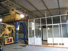 2-3T biomass pellet production line