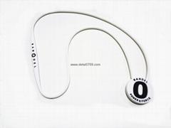 硅膠滴膠標誌項鏈