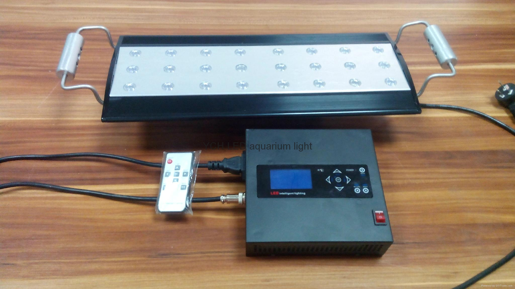 72W Flying fish dimmable led aquarium light 1