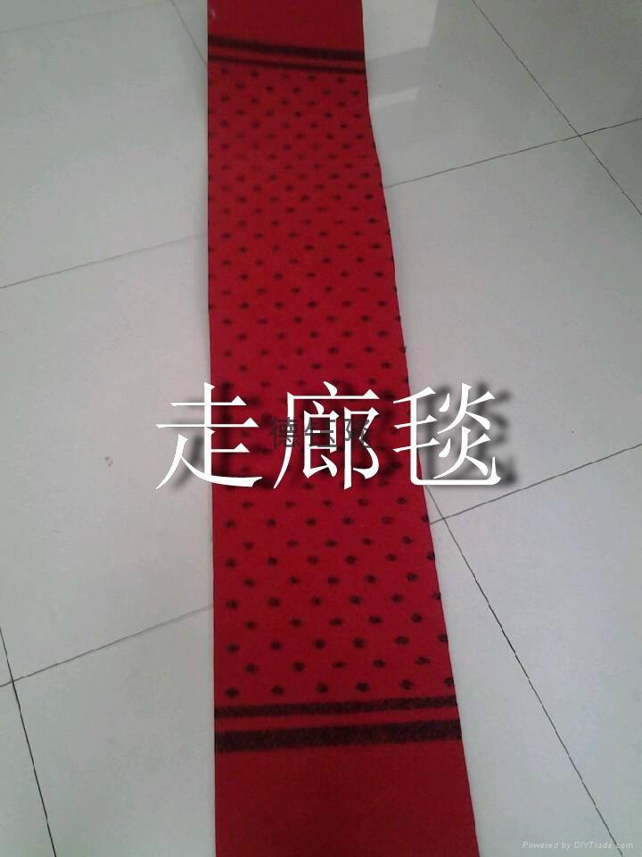 拉绒提花走廊地毯 1