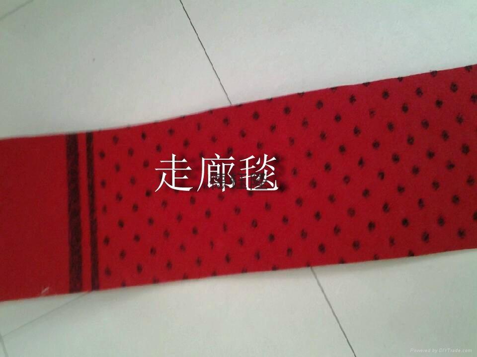 拉绒提花走廊地毯 3