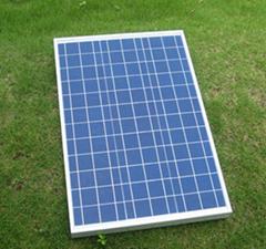 50W多晶太阳能电池板高效环保