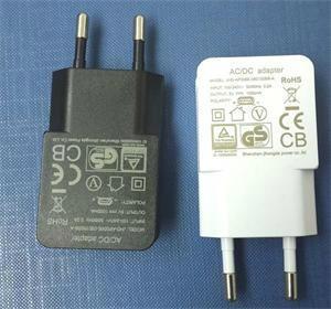 歐規5V1A1.2A USB電源適配器USB充電器JHD-AP006E-050100BB-A 1