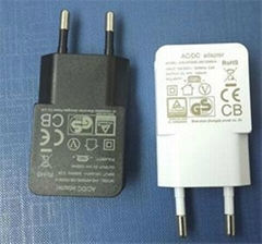 5V1A1.2A USB power adapter mobile USB charger for European market-JHD-AP006E-050
