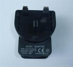 UK /BS插头充电器电源适配器5v1000mA