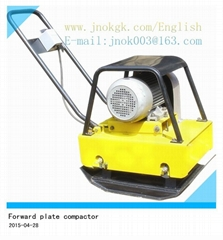 Forward  Plate Compactor vibrating compaction plate Gasoline POWER compactor