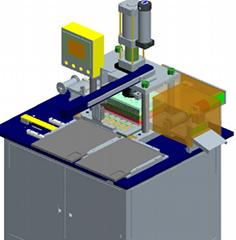 蘇州沖床連線自動擺盤設備